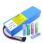 Lithium Battery 18650 60V 12AH լիթիում իոն վերալիցքավորվող սկուտերային մարտկոցի փաթեթ