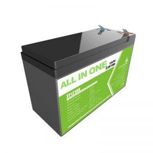 Փոխարինեք կապարի թթվային գել մարտկոցը 12V 10Ah լիթիումի իոնային մարտկոցով փոքր էներգիայի խանութի համար