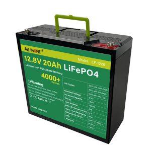 OEM 12V 20Ah litium Lifepo4 մարտկոցի փաթեթ