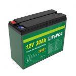 OEM մարտկոց վերալիցքավորվող 12V 30Ah 4S5P լիթիում 2000+ խորը ցիկլի Lifepo4 բջիջների արտադրող