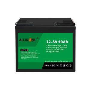 12.8V 40Ah LiFePO4 Lead Acid Replacement Lithium ion Battery Pack 12V 40Ah
