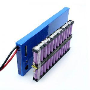 ALL IN ONE Մեծածախ 12S2P 18650 լի իոնային մարտկոց 44.4V 6Ah էլեկտրական սքեյթբորդի համար