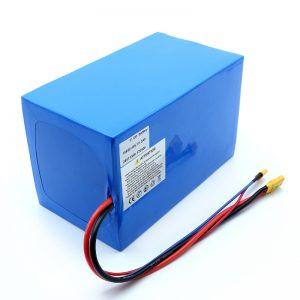Lithium Battery 18650 48V 51.2AH 24v 30V 60V 15ah 20Ah 50Ah Li-ion մարտկոցներ 18650 48V Lithium ion մարտկոցի տուփ էլեկտրական սկուտերների համար