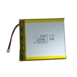 3.7V 2200mAh Պոլիմերային լիթիումի մարտկոցներ խելացի տնային սարքերի համար