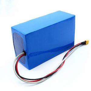 Lithium վերալիցքավորվող 36V 10Ah Li -on 18650 էլեկտրական Skateboard մարտկոցների փաթեթ