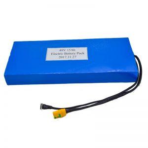 Մեծածախ 15Ah 48V լիթիումի մարտկոց էլեկտրական սկուտերի համար