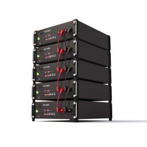 LiFePO4 հզորության պատի լիթիումի մարտկոց 48V 200ah 10kwh powerwall տան արևային համակարգի համար