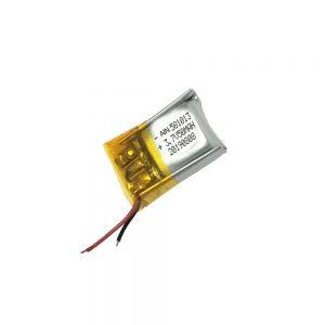 Բարձրորակ լիթիումի պոլիմերային մարտկոց 3.7V 50mAh 581013 մարտկոց