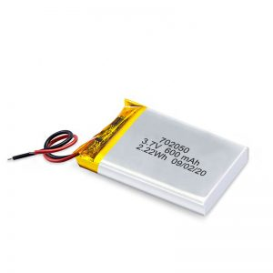 Չինաստան մեծածախ 3.7V 600Mah 650Mah Mini Li-Polymer լիթիումային մարտկոցներ վերալիցքավորվող մարտկոցների տուփ խաղալիք մեքենայի համար