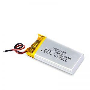 LiPO վերալիցքավորվող մարտկոց 7866120 3.7V 10000mAh / 3.7V 20000mAH / 7.4V 10000mAh