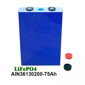 LiFePO4 Prismatic մարտկոց 36130200 3.2V 75AH