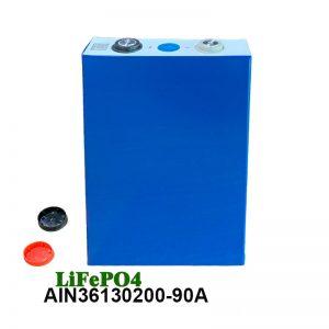 LiFePO4 Prismatic Battery 3.2V 90AH lifepo4 բջջային լիցքավորվող մարտկոց մեքենայի էլեկտրական գործիքների էլեկտրական անվասայլակի համար
