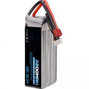 տաք վաճառք վերալիցքավորվող լիթիումի պոլիմերային մարտկոց 22000 mah 6s lipo