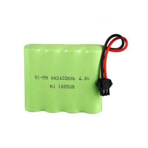 NiMH վերալիցքավորվող մարտկոց AA2400mAH 4.8V