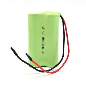 NiMH վերալիցքավորվող մարտկոց AA1500mAh 2.4V