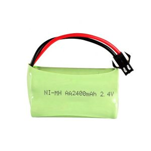 NiMH վերալիցքավորվող մարտկոց AA2400mAH 2.4V