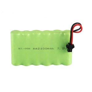 NiMH վերալիցքավորվող մարտկոց AA 2400mAh 7.2V