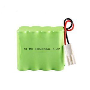 NiMH վերալիցքավորվող մարտկոց AA2400 9.6V