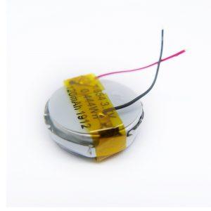 LiPO հարմարեցված մարտկոց 1654 3.7V 120mAh