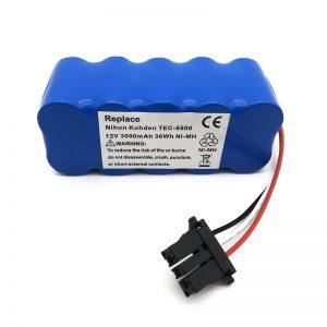 12v ni-mh մարտկոց փոշեկուլի համար TEC-5500, TEC-5521, TEC-5531, TEC-7621, TEC-7631